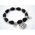 893065 Bead Bracelet in Black