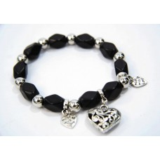 893065 Bead Bracelet in Black