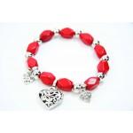 893065  Red Bead Bracelet