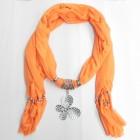 992044 Orange Scarf