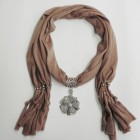 992048 Brown scarf