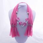 992053 Light Pink Jewelery Scarf