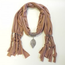 992058 Brown Scarf