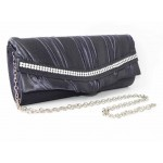 995061-123  Grey Evening purse