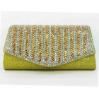 995066-208 Topaz  Evening Purse in  Gold
