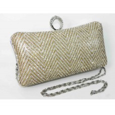 995067-201 Crystal Fashion Evening Purse in Gold