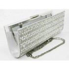 995069-101 Crystal Evening Purse in Silver