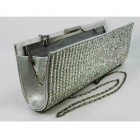 995070-101 Crystal Silver Evening Purse