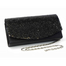 995074-102 Black Fashion Sequin Purse