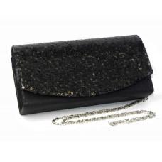 995074-102 Black Fashion Sequin Purse