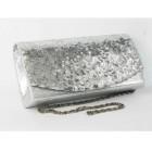 995074-101 Silver Fashion Sequin Purse