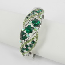 514162 Emerald Crystal Bangle