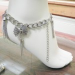 893065M- Silver Anklace