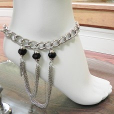 893066M-101 Silver Anklace
