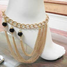 893066M-201 Gold Anklace