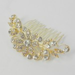 716042-201 Gold  Hair Comb