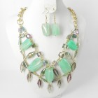 891054 Green Necklace