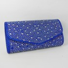 HS1512-115 Royal Blue  Evening Purse