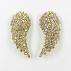 592375-201 Clear in gold Earring