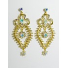 512017 Gold AB Earring