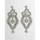 512017 Crystal Silver AB Earring