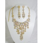 511110-201AB Gold Necklace Set in Gold
