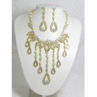 511084-201AB Gold Necklace Set